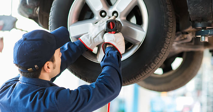 trocar de pneus